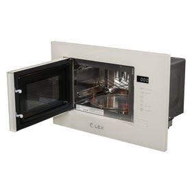 Микроволновая печь LEX BIMO 20.01 Ivory Light (белый антик)-1