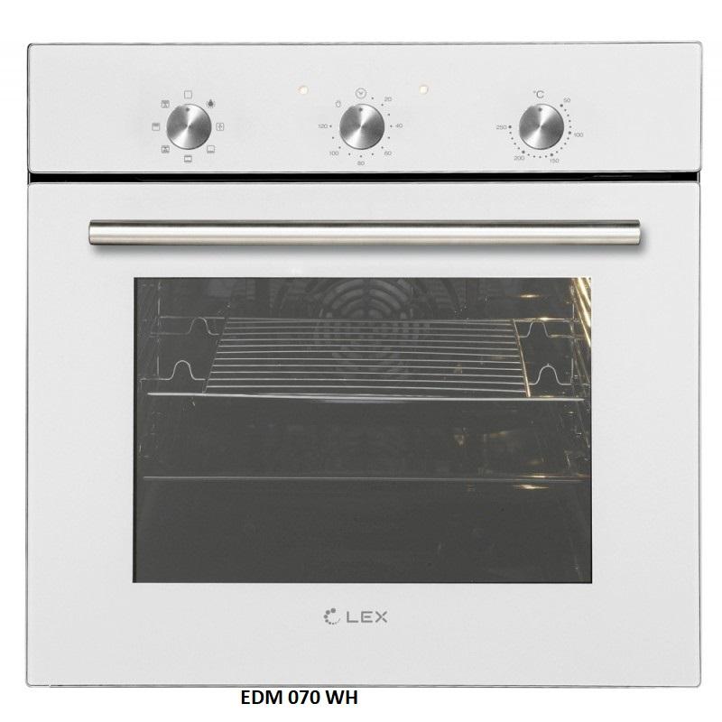 Духовой шкаф LEX EDM 070 WH-1