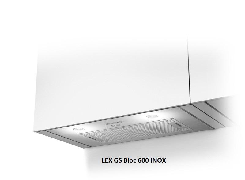 Встраиваемая вытяжка Lex GS Bloc Light 600 Inox