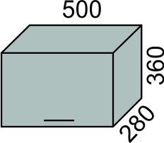 Шкаф печной 500мм в 360(2)