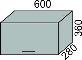 Шкаф печной 600мм в 360(2)