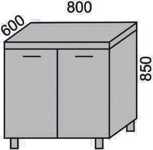 Стол 800мм (2)