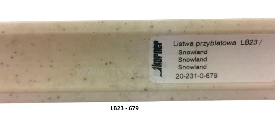 Плинтус пластиковый LB23-17
