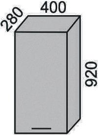 Шкаф 400х920 мм(2)