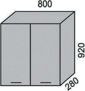 Шкаф 800х920 мм(2)