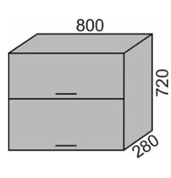 Шкаф горизонтальный 800мм (2)