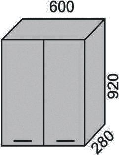 Шкаф-сушка 600х920мм (2)