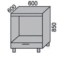Стол под технику с ящиком 600мм (2)