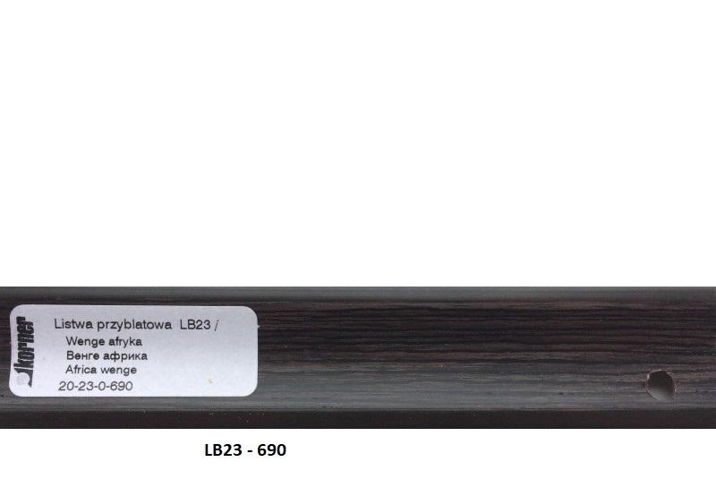 Плинтус пластиковый LB23-3