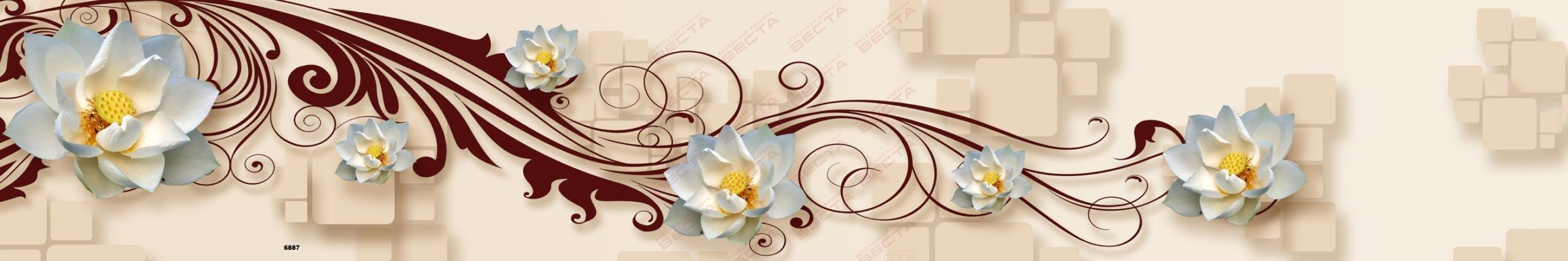 Фартуки Цветы-8